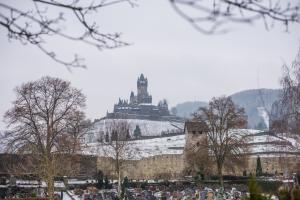 Burg Cochem in Winter