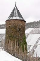 Eulenturm Briedel im Winter
